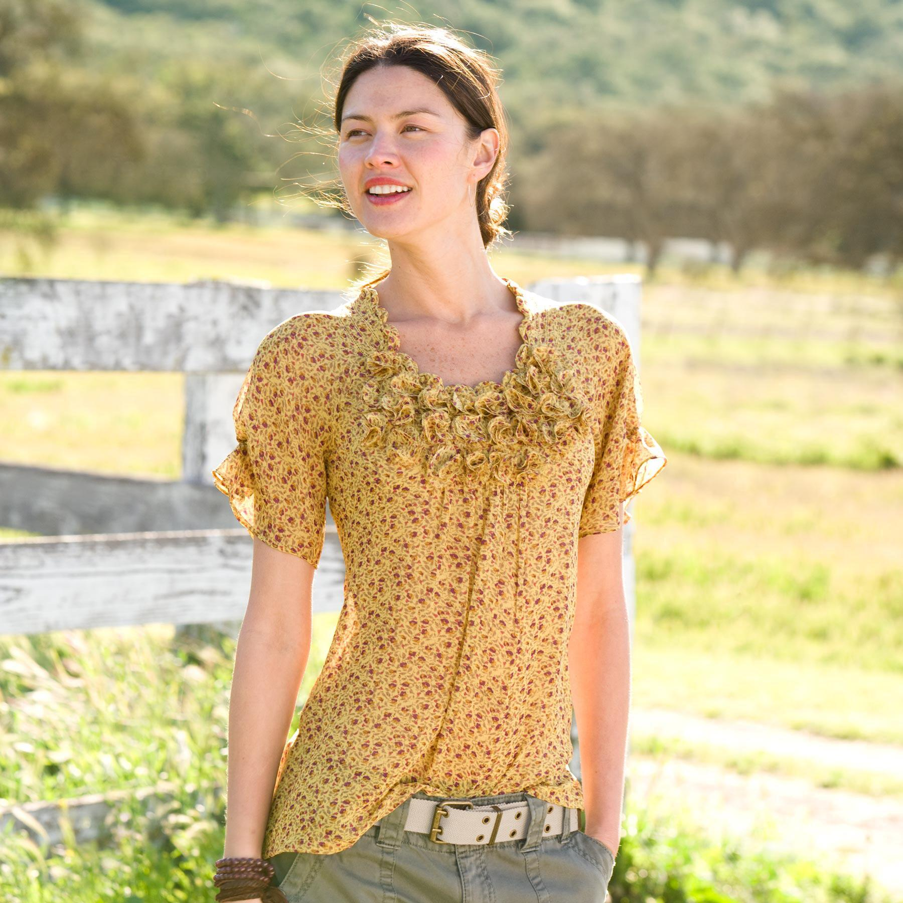 WILDFLOWER BLOUSE: View 1