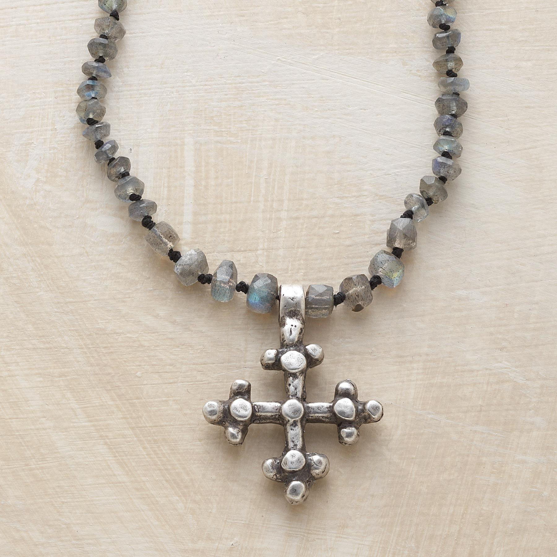 MYSTICAL CROSS NECKLACE: View 1