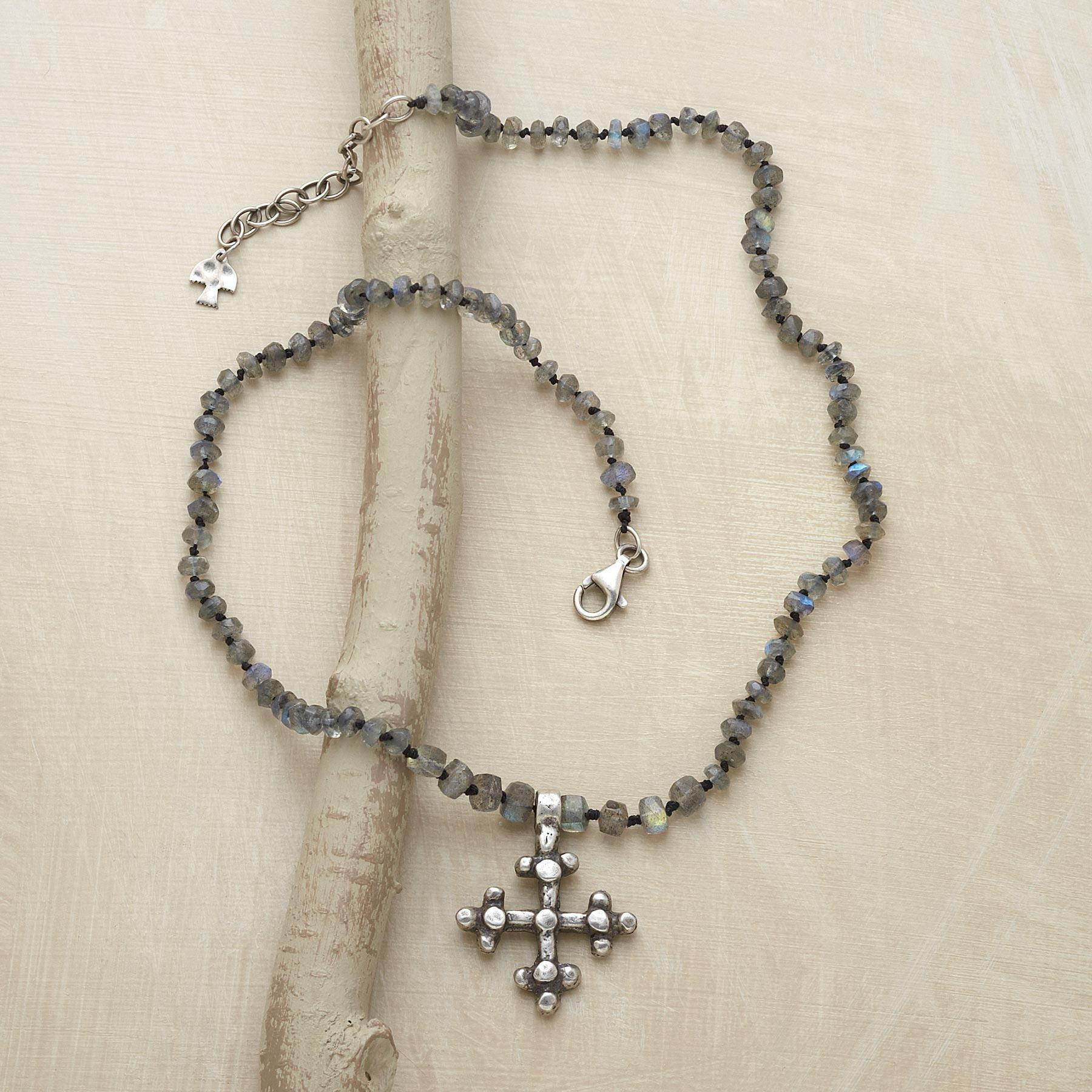 MYSTICAL CROSS NECKLACE: View 2