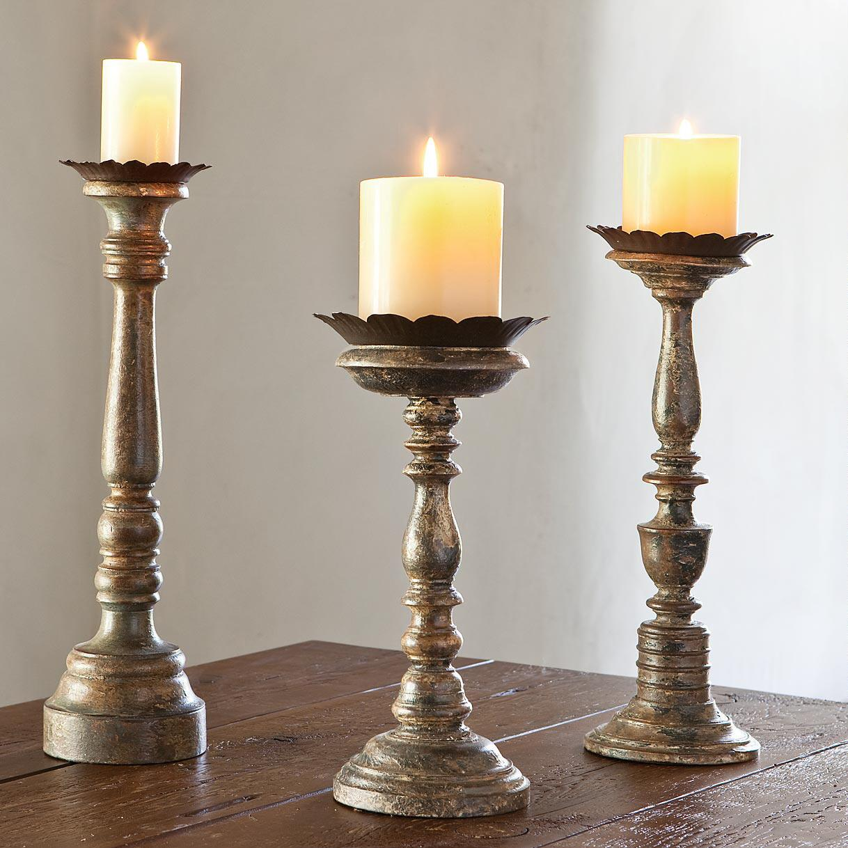 ARTISAN CANDLEHOLDERS: View 1