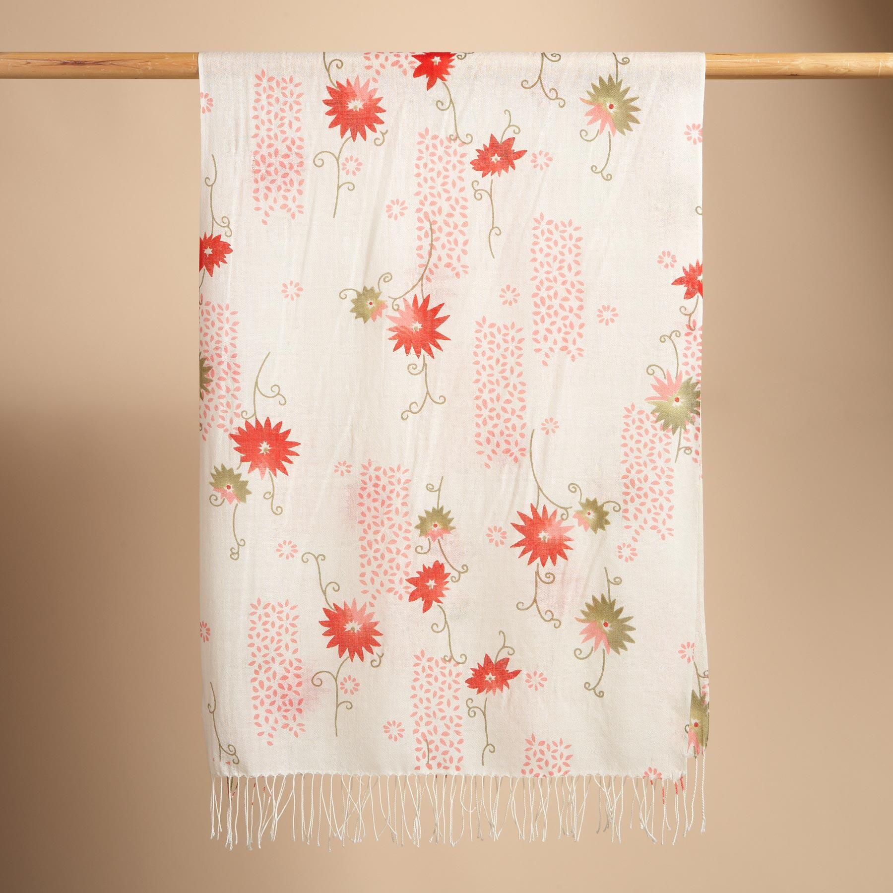 FLORAL SCARF: View 2