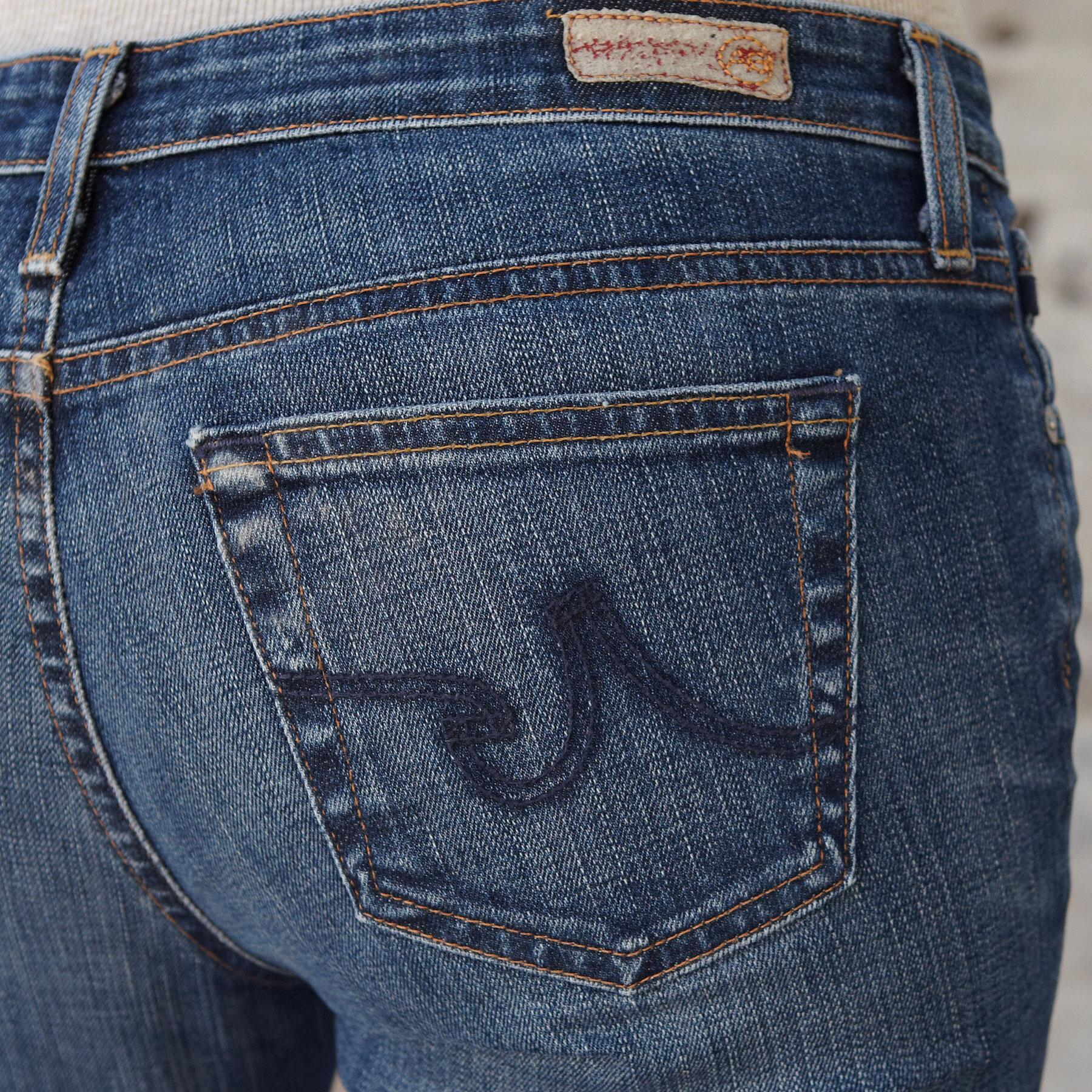 A G ANGEL MOMENT JEANS: View 3