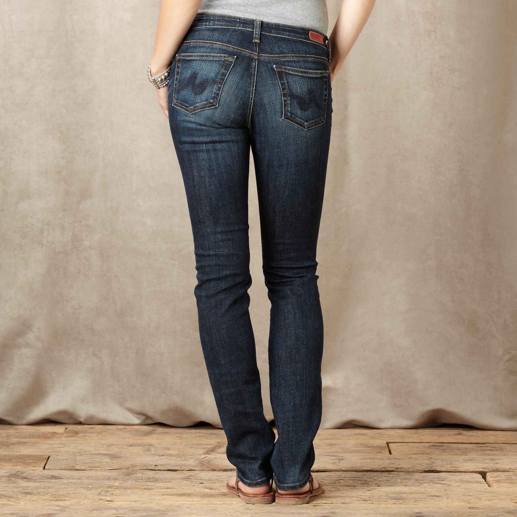 A G PREMIERE SKINNY KNOLL JEANS: View 2