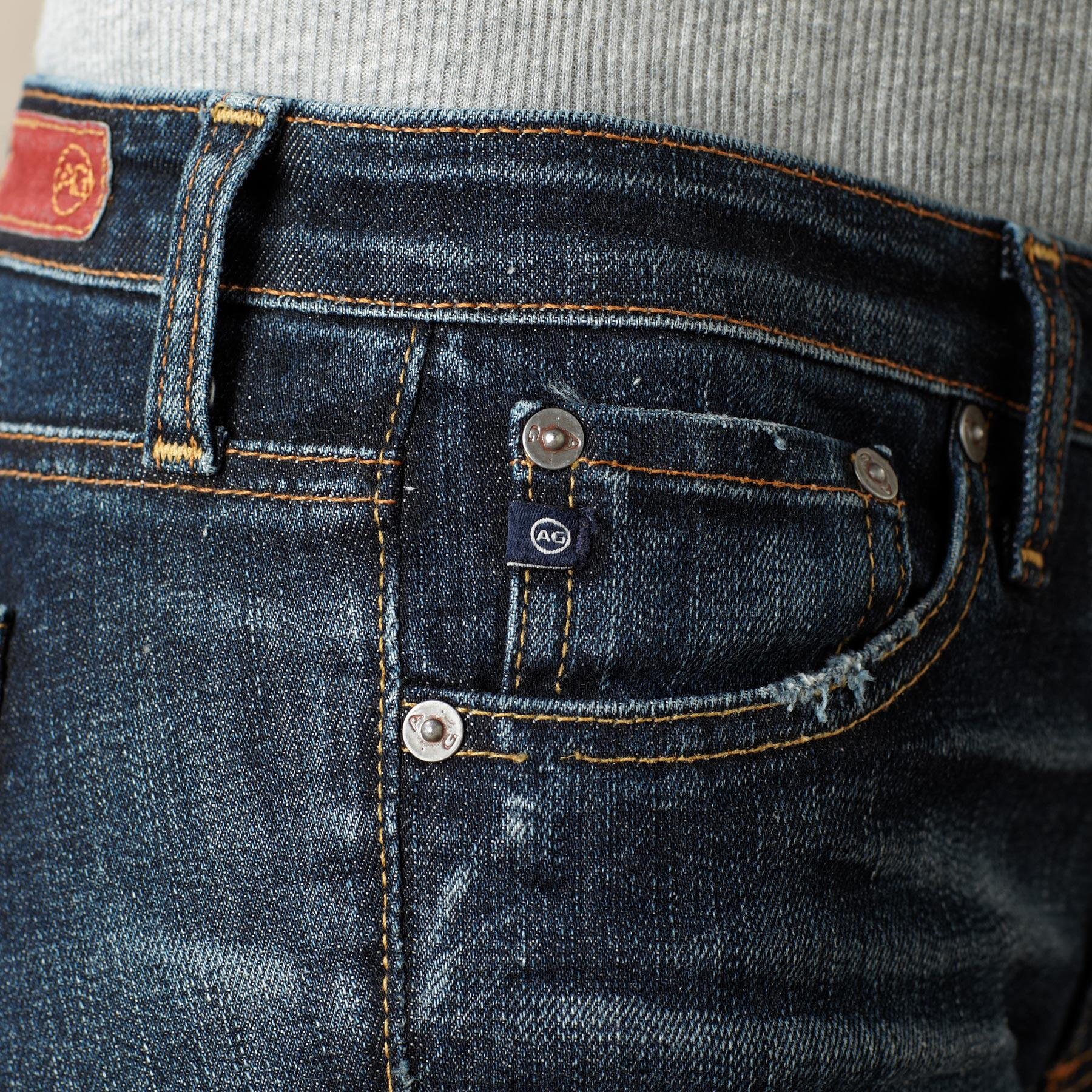 A G PREMIERE SKINNY KNOLL JEANS: View 4