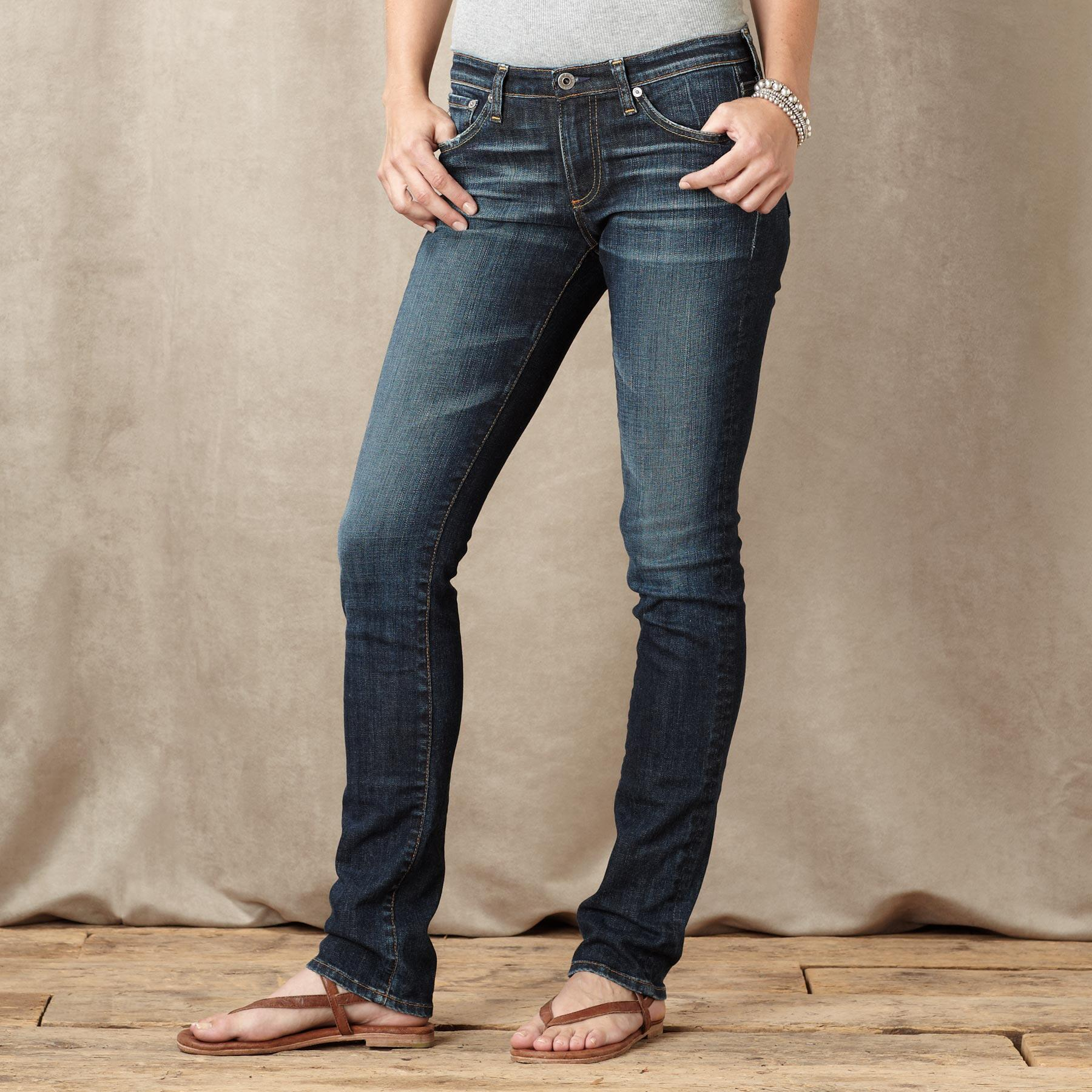 A G PREMIERE SKINNY KNOLL JEANS: View 5