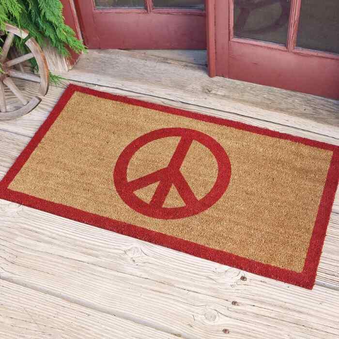 PEACE DOORMAT