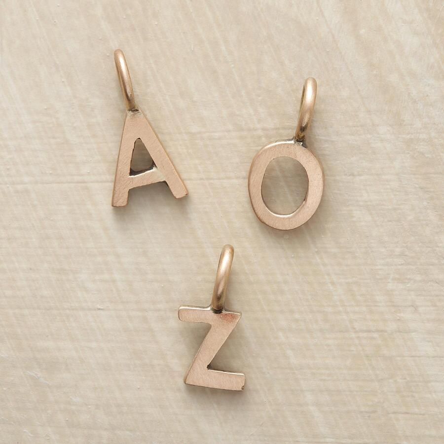 ROSE GOLD ALPHABET CHARMS