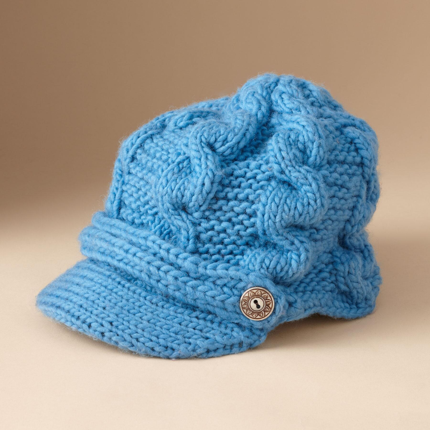 KNIT EQUESTRIAN HAT: View 1