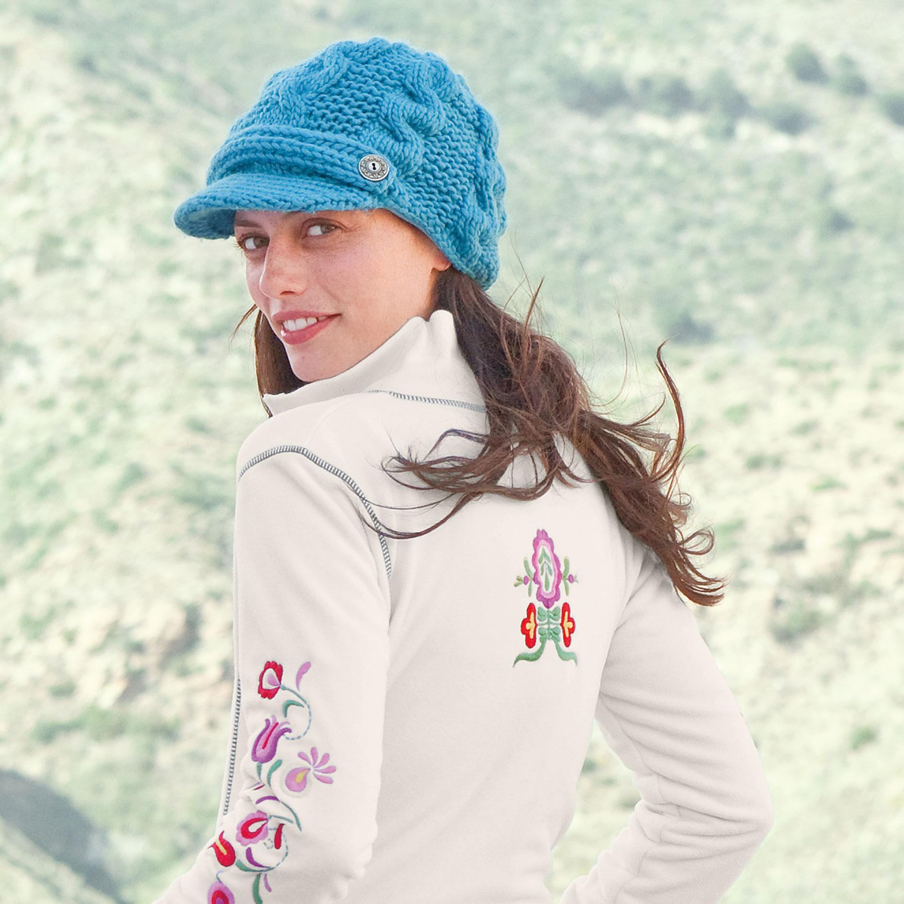 KNIT EQUESTRIAN HAT: View 2