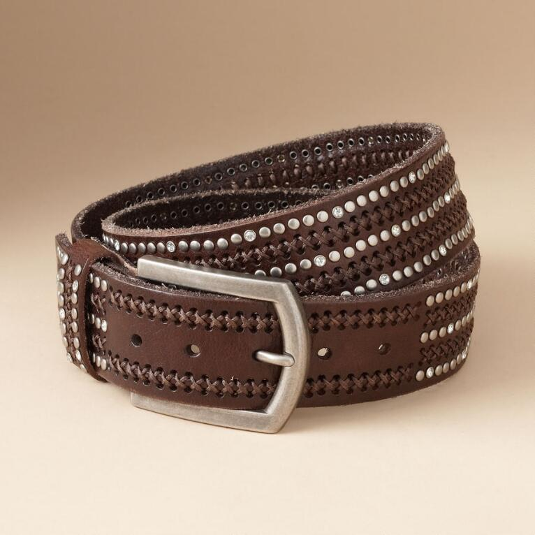 EMBOLDENED BROWN BELT