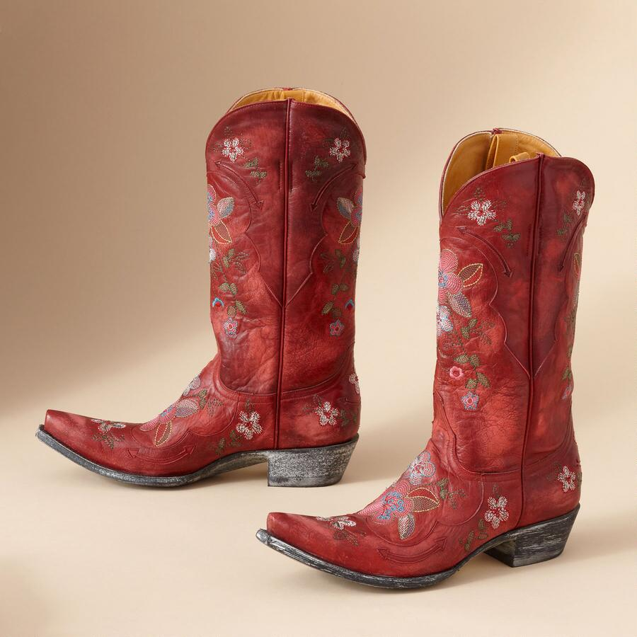 LONE STAR GAIA BOOTS IN RED