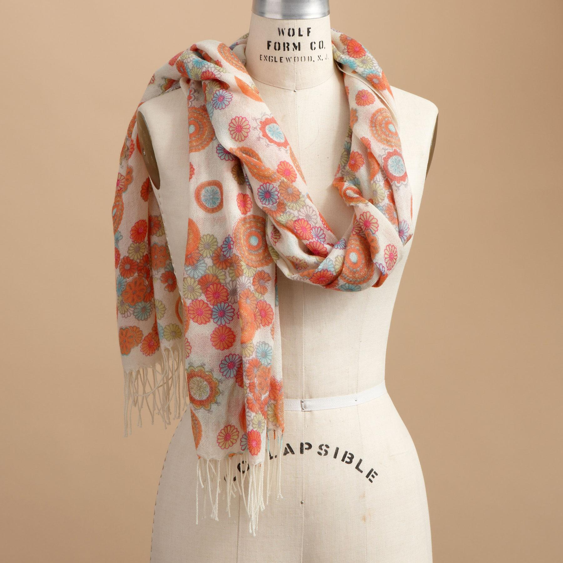 FLOWER POWER SCARF: View 1