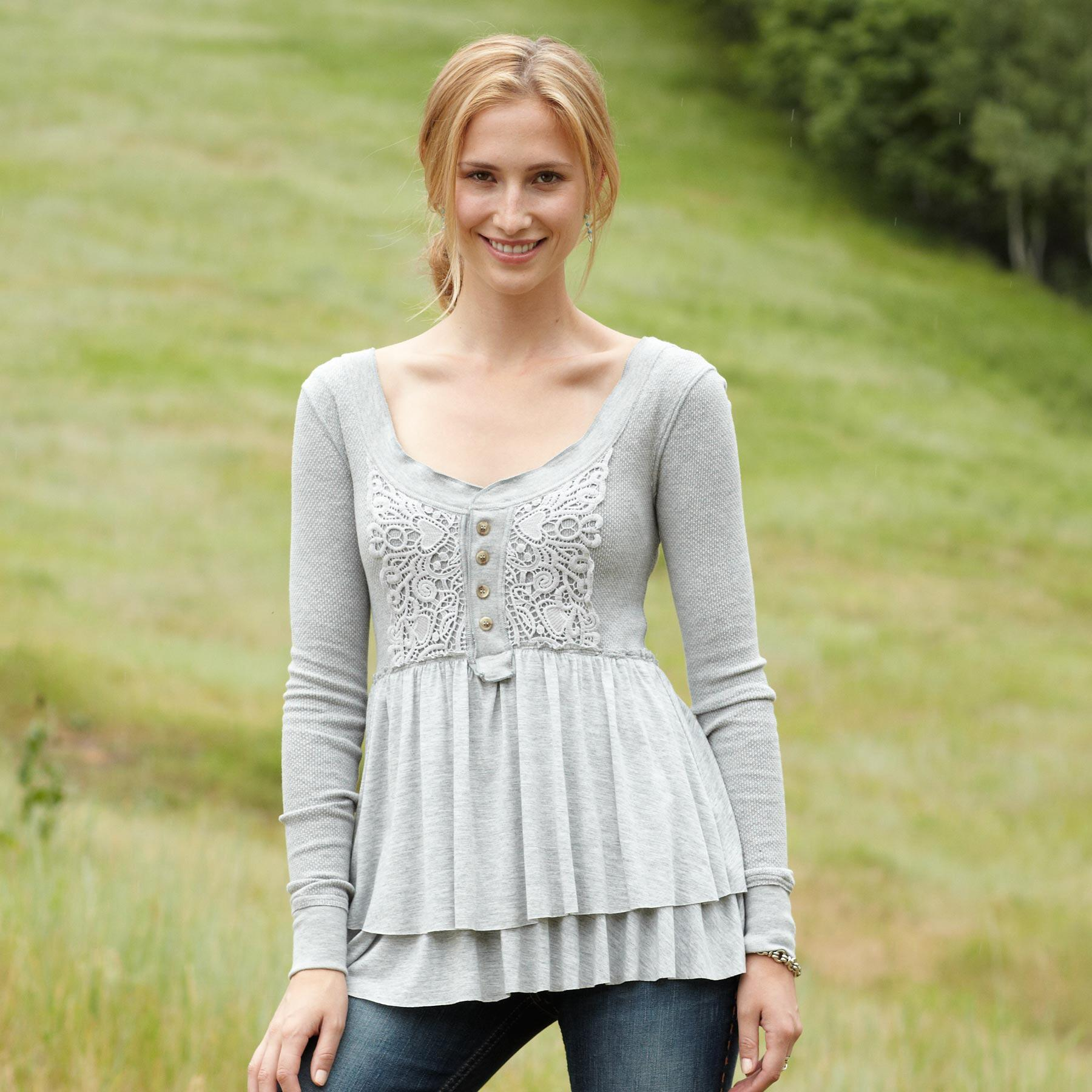 BRICK LANE HENLEY TUNIC: View 1