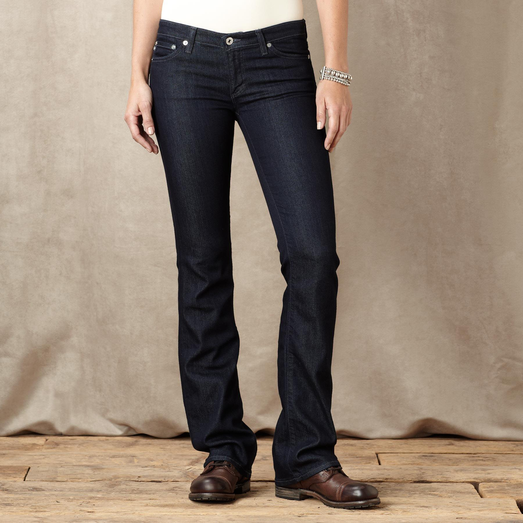 A G ANGEL BOOTCUT ADMIT JEANS: View 1