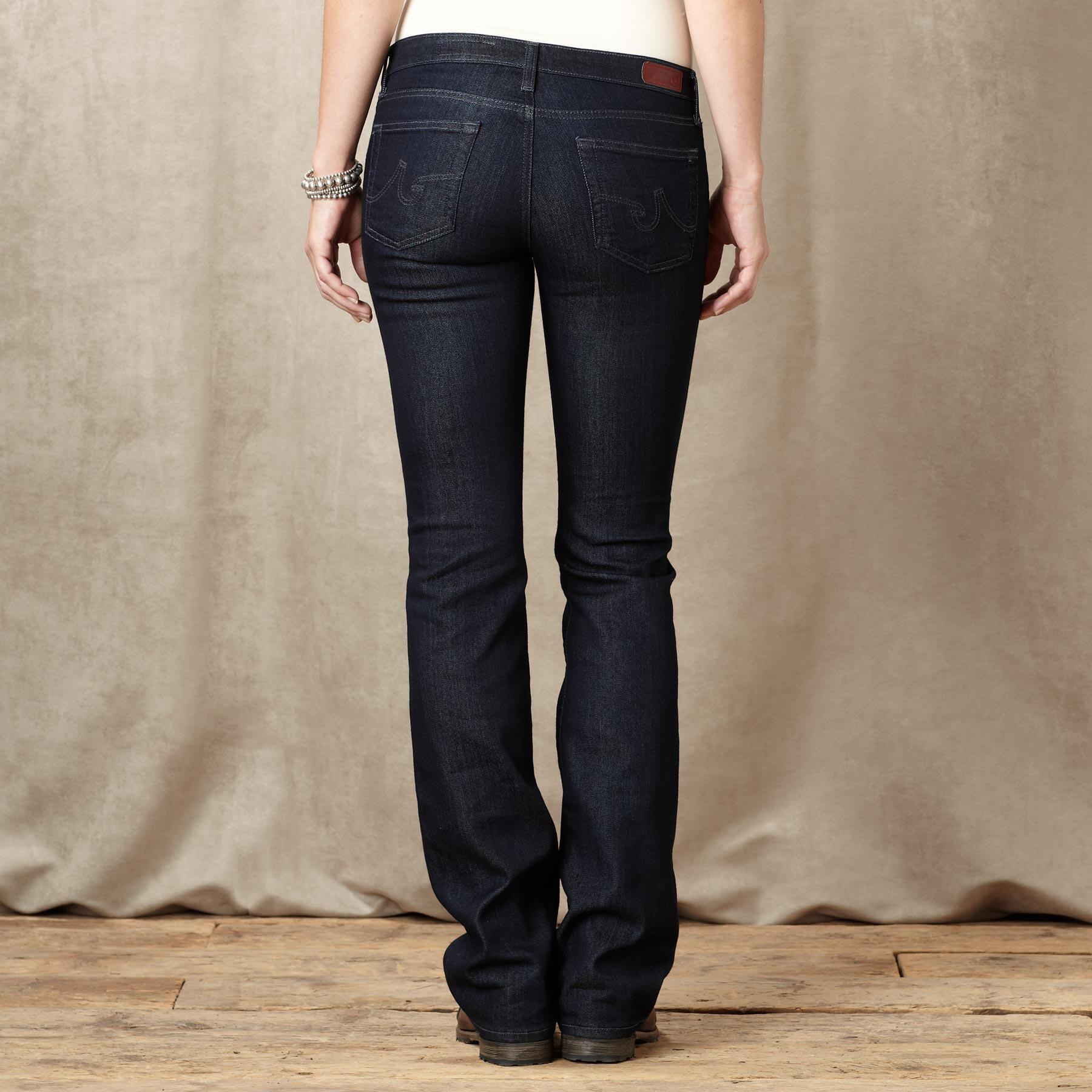 A G ANGEL BOOTCUT ADMIT JEANS: View 2