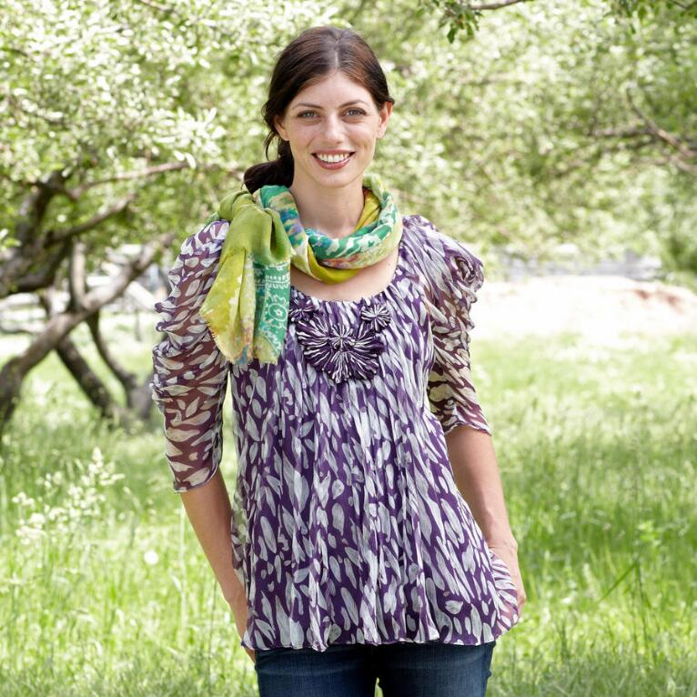 FEATHER FANTASY TUNIC