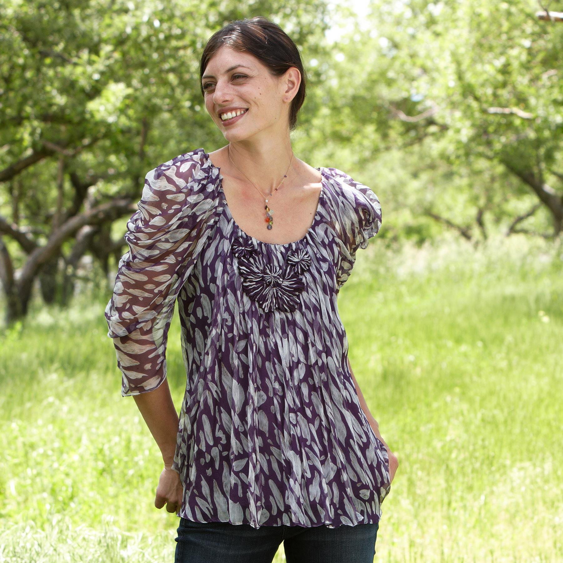 FEATHER FANTASY TUNIC: View 2
