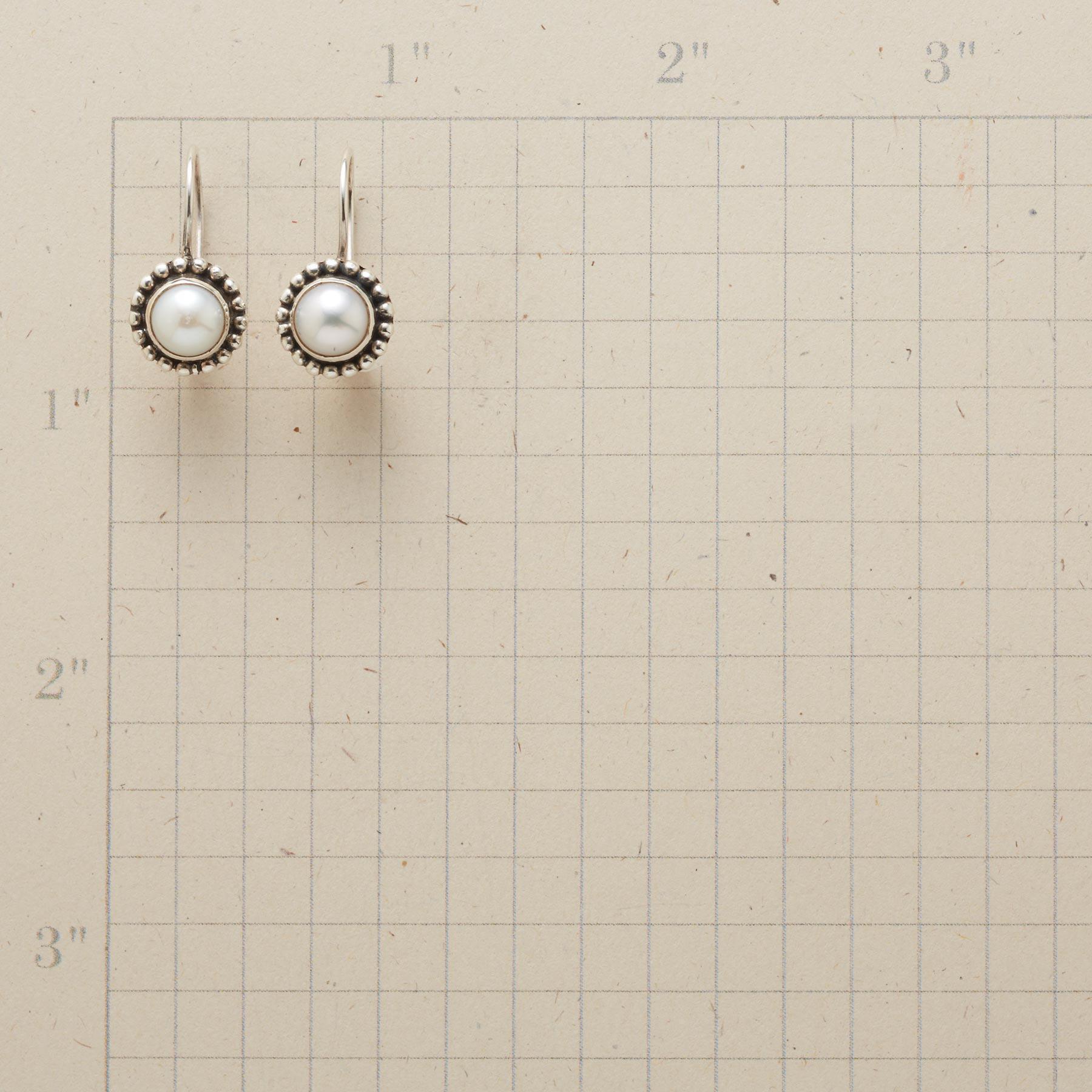 BEADED PEARL EARRINGS: View 2