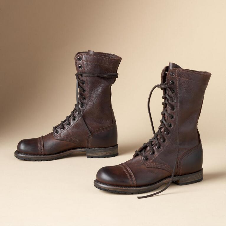 MOLLY MILITARY JUMP BOOTS BY VINTAGE SHOE CO