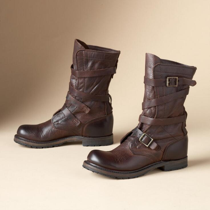 Tanker Boots By Vintage Shoe Co Iconic Brands Footwear