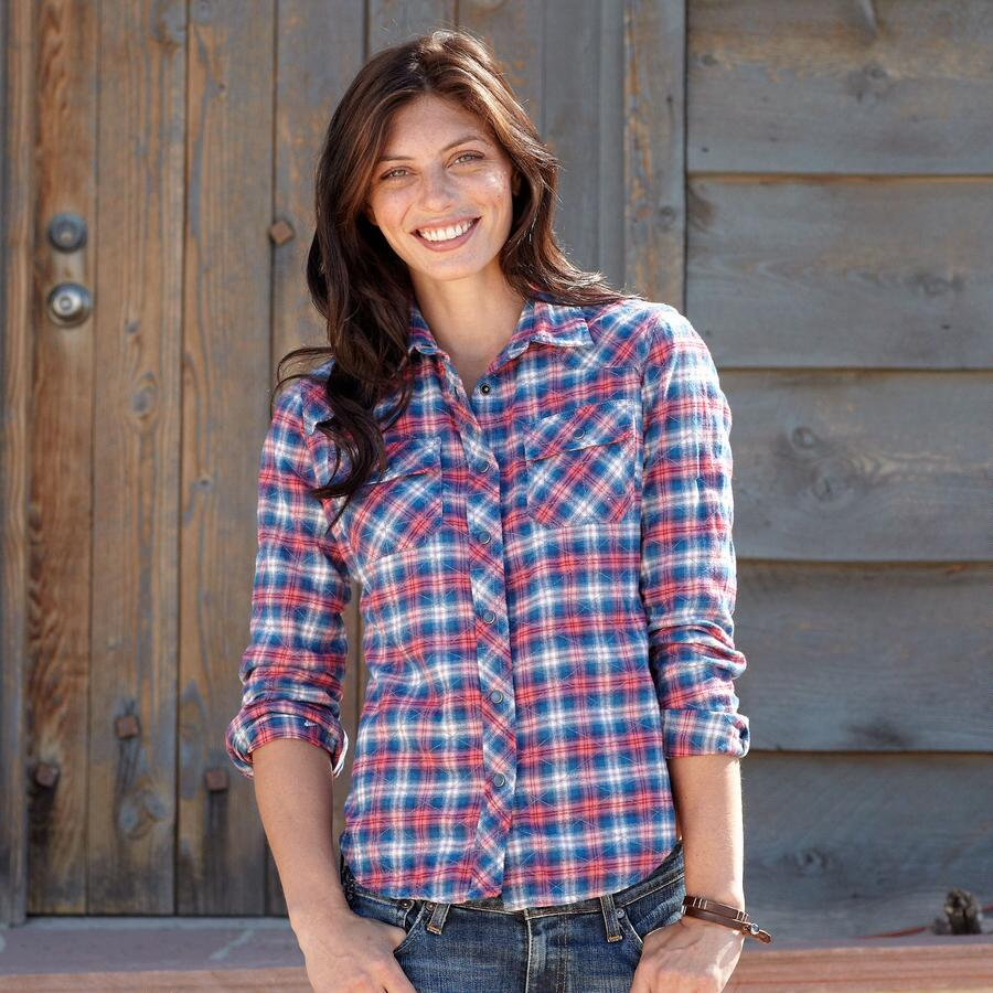 HER FAVORITE PLAID SHIRT