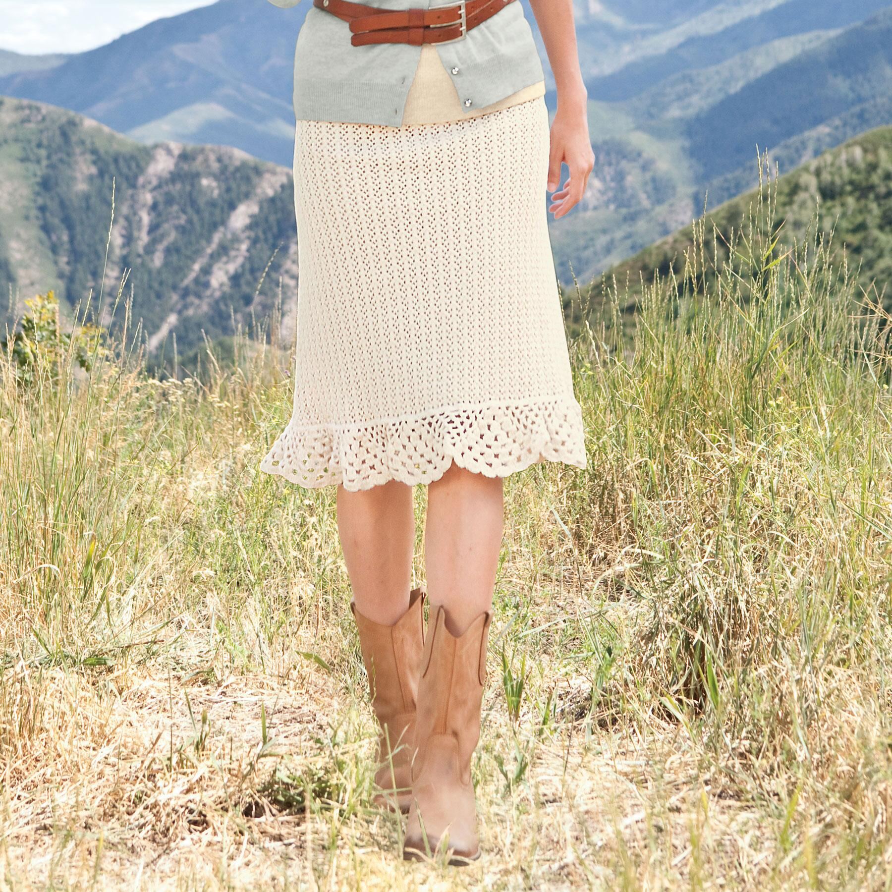 CHATHAM CROCHET SKIRT: View 1