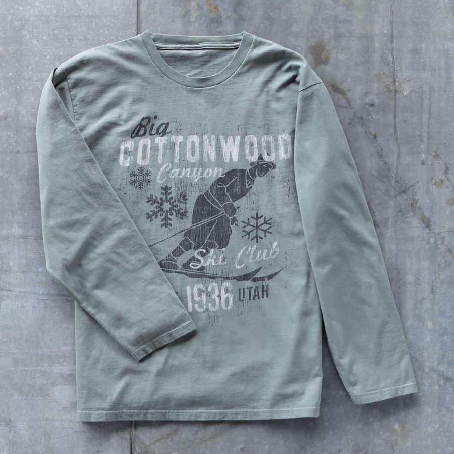 BIG COTTONWOOD SKI TEE