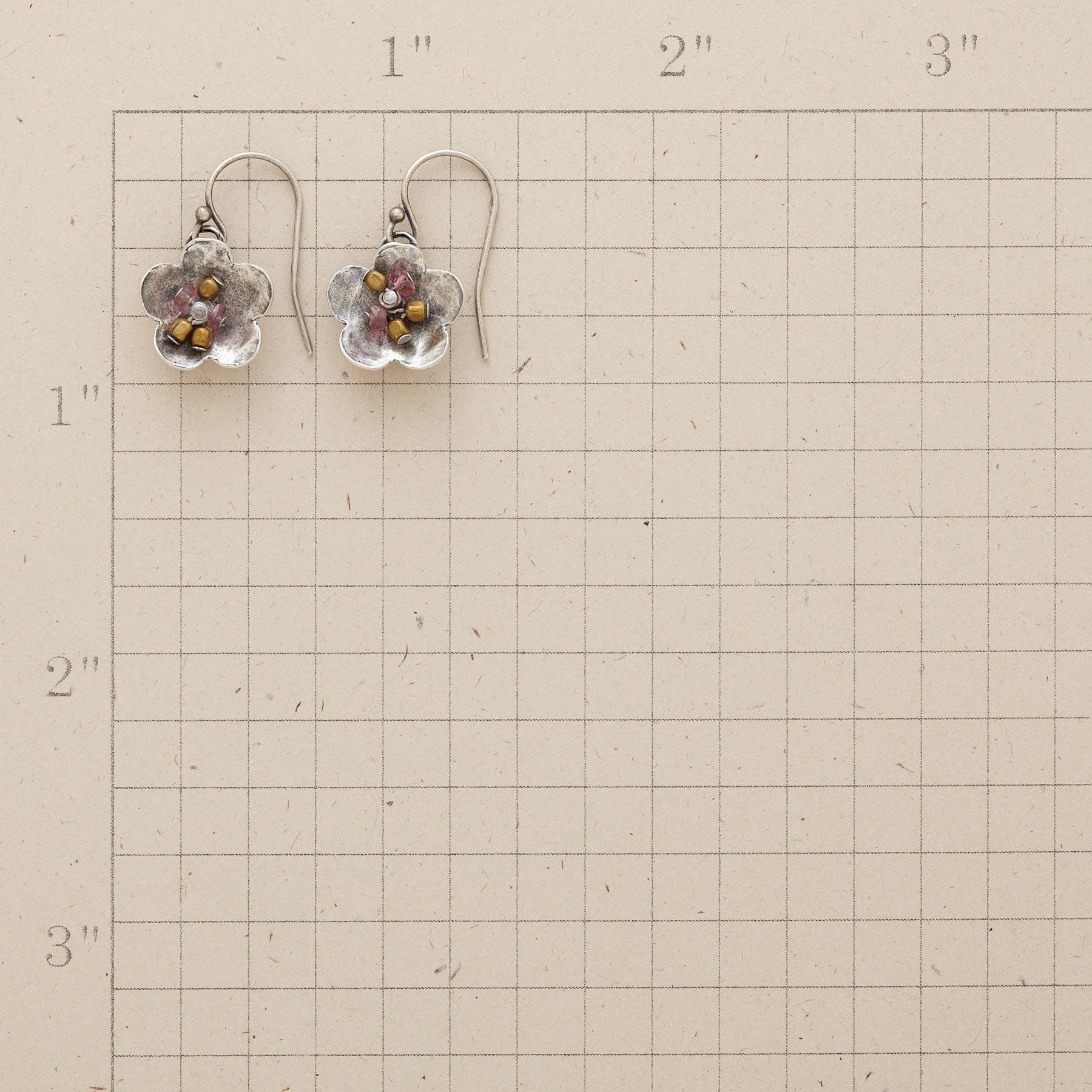 TOURMALINE GARDEN EARRINGS: View 2