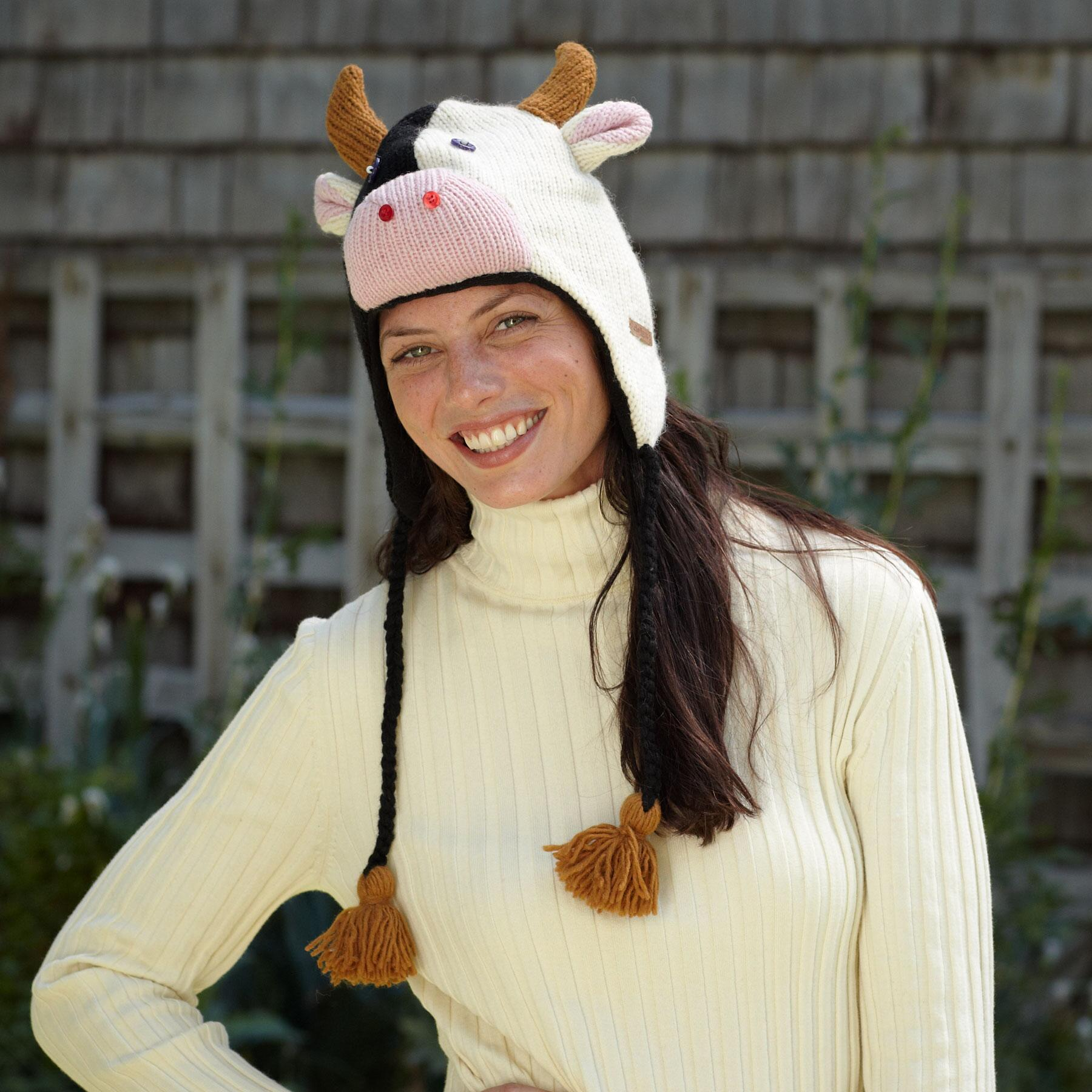 CONTENTED COW HAT: View 2