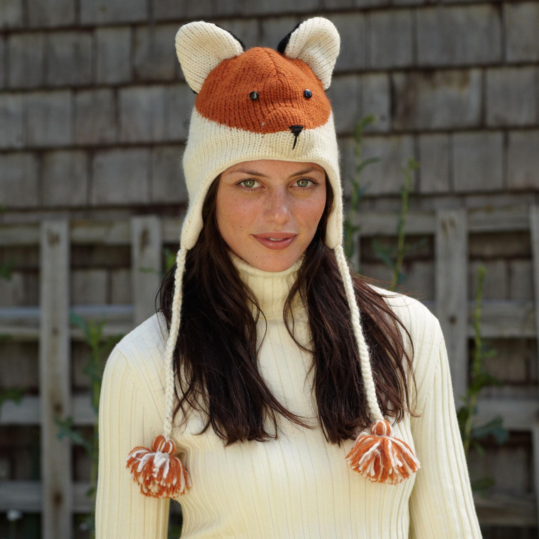 FEISTY FOX HAT: View 2