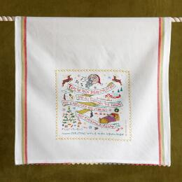 SOUVENIR NIGHT BEFORE CHRISTMAS TEA TOWEL