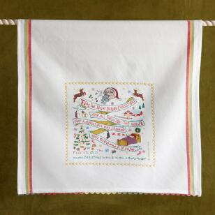 SOUVENIR CHRISTMAS TEA TOWEL