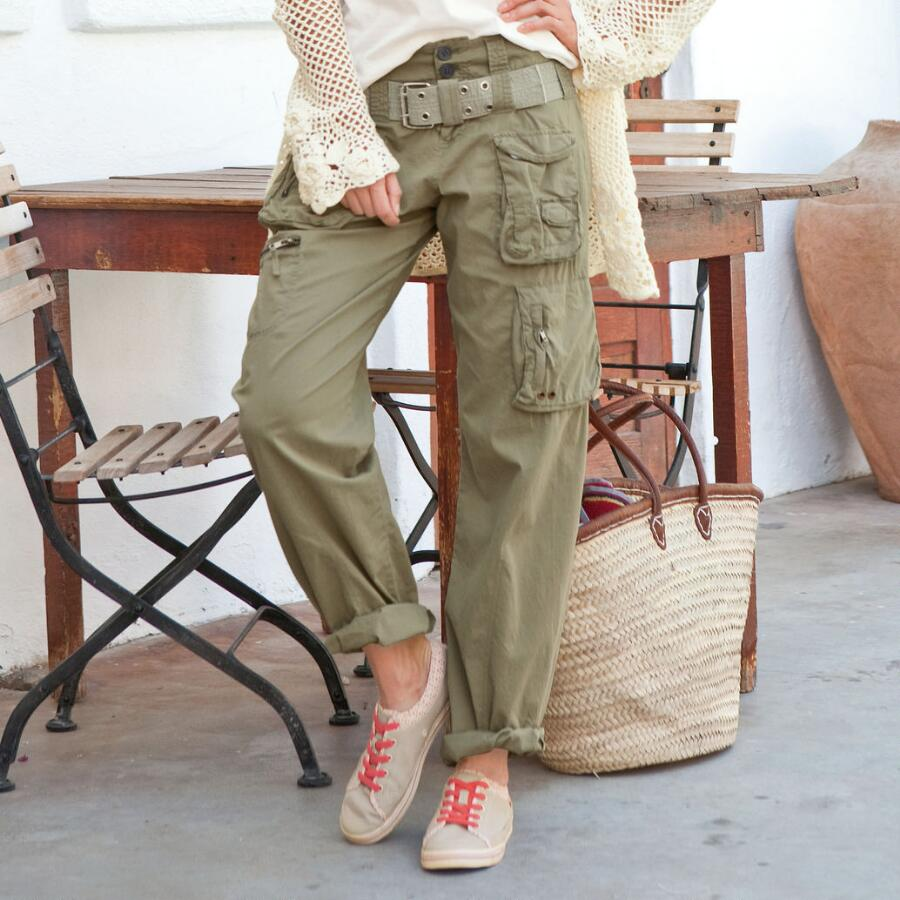 SLOUCH CARGO PANTS