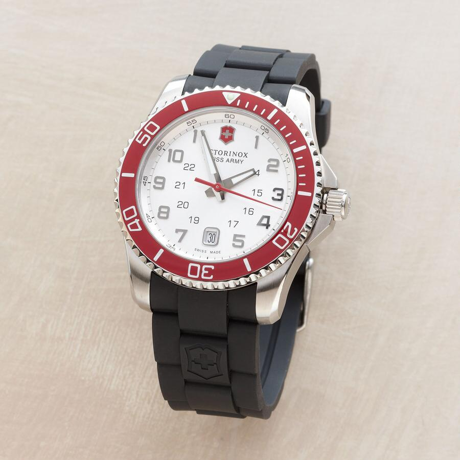 RED BEZEL WATCH