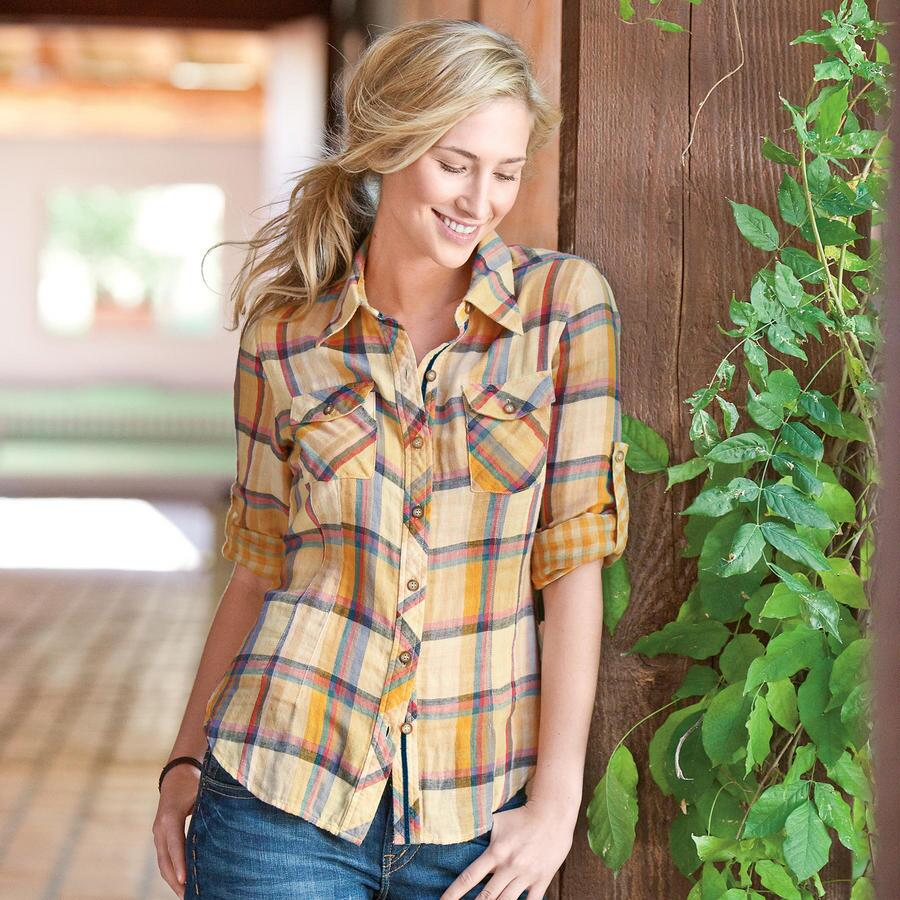 HADLEY PLAID SHIRT