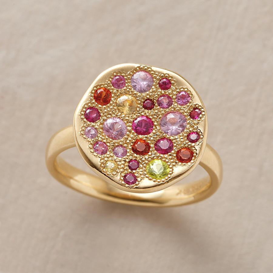 COLOR WHEEL SAPPHIRE RING