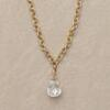 BRILLIANT DIAMOND BRIOLETTE NECKLACE: View 1