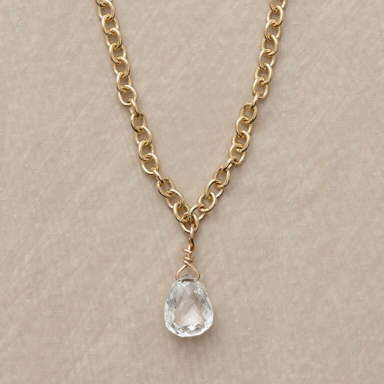 d white necklace briolette chicco dbp diamond yellow gold zo products