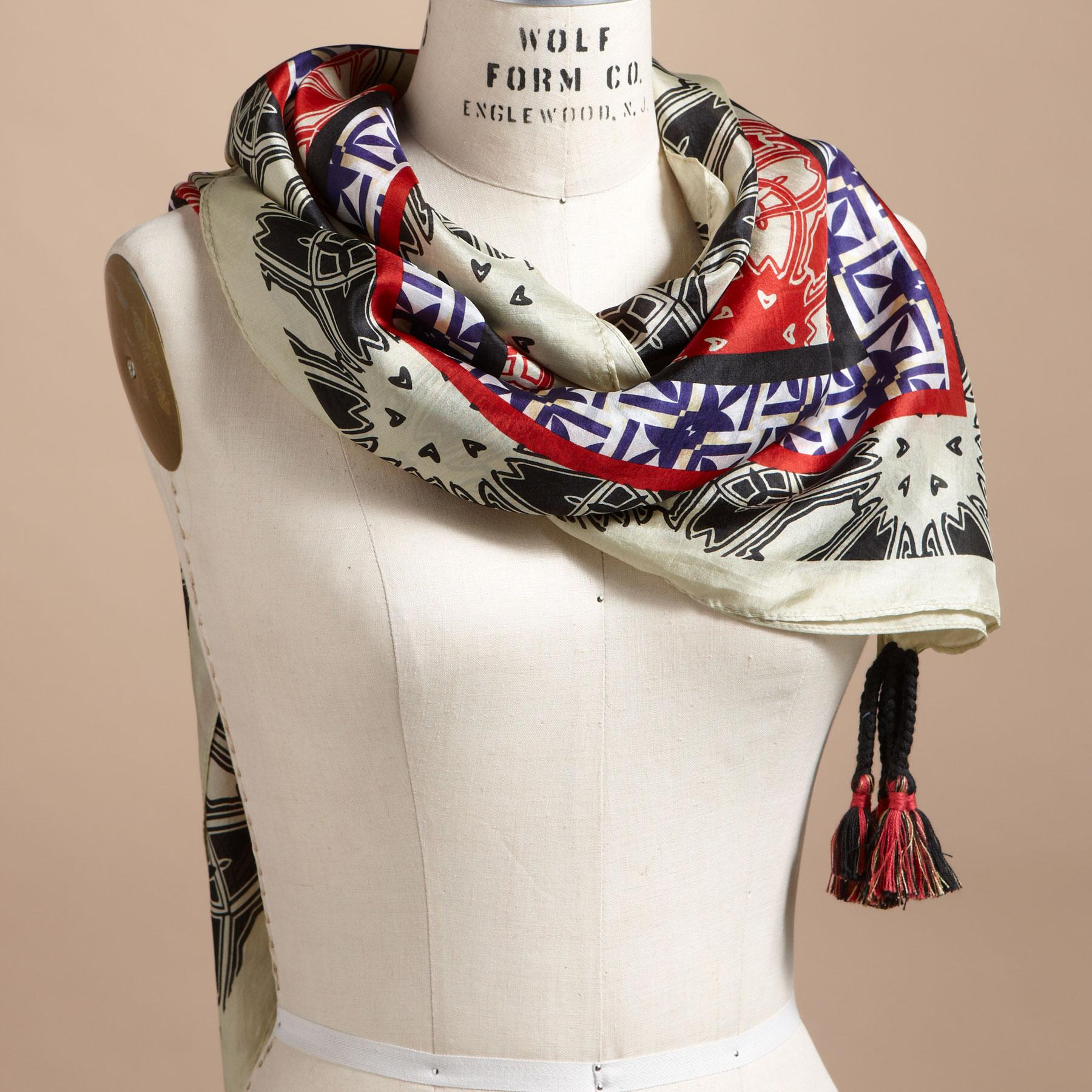 MEDLEY SILK SCARVES: View 1