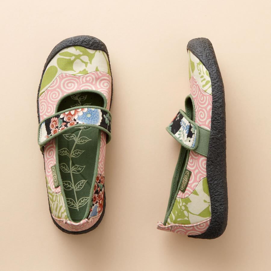 ECO-PATCHWORK MARY JANES