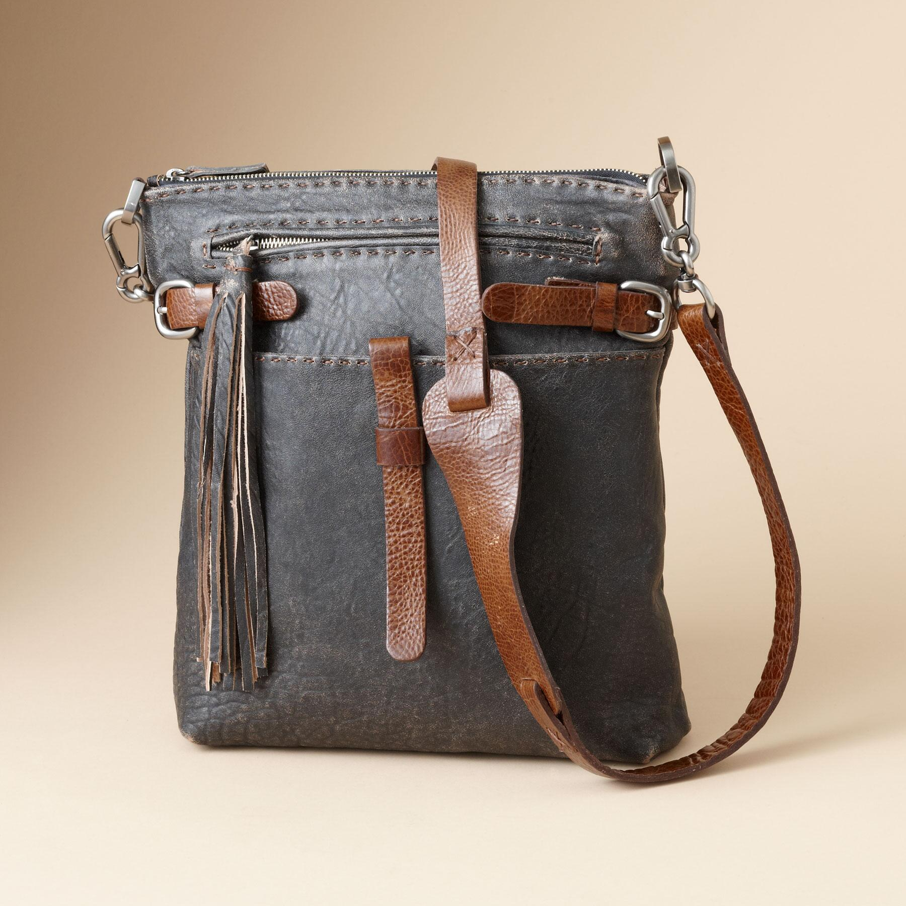 BOUNDLESS LEATHER BAG: View 1