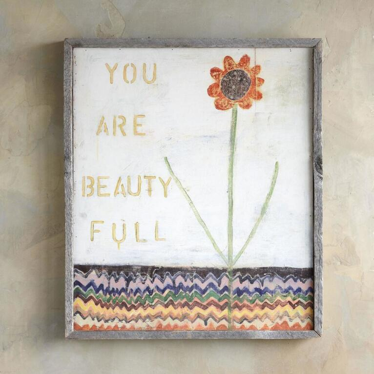 YOU ARE BEAUTY FULL PRINT