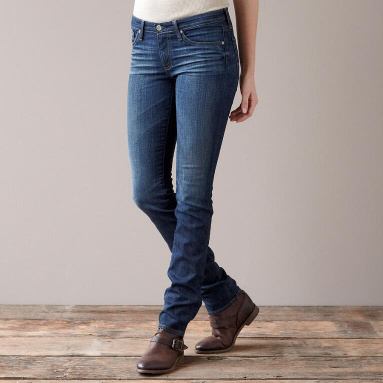 A G PREMIERE SKINNY IN 7 YEAR WASH JEANS