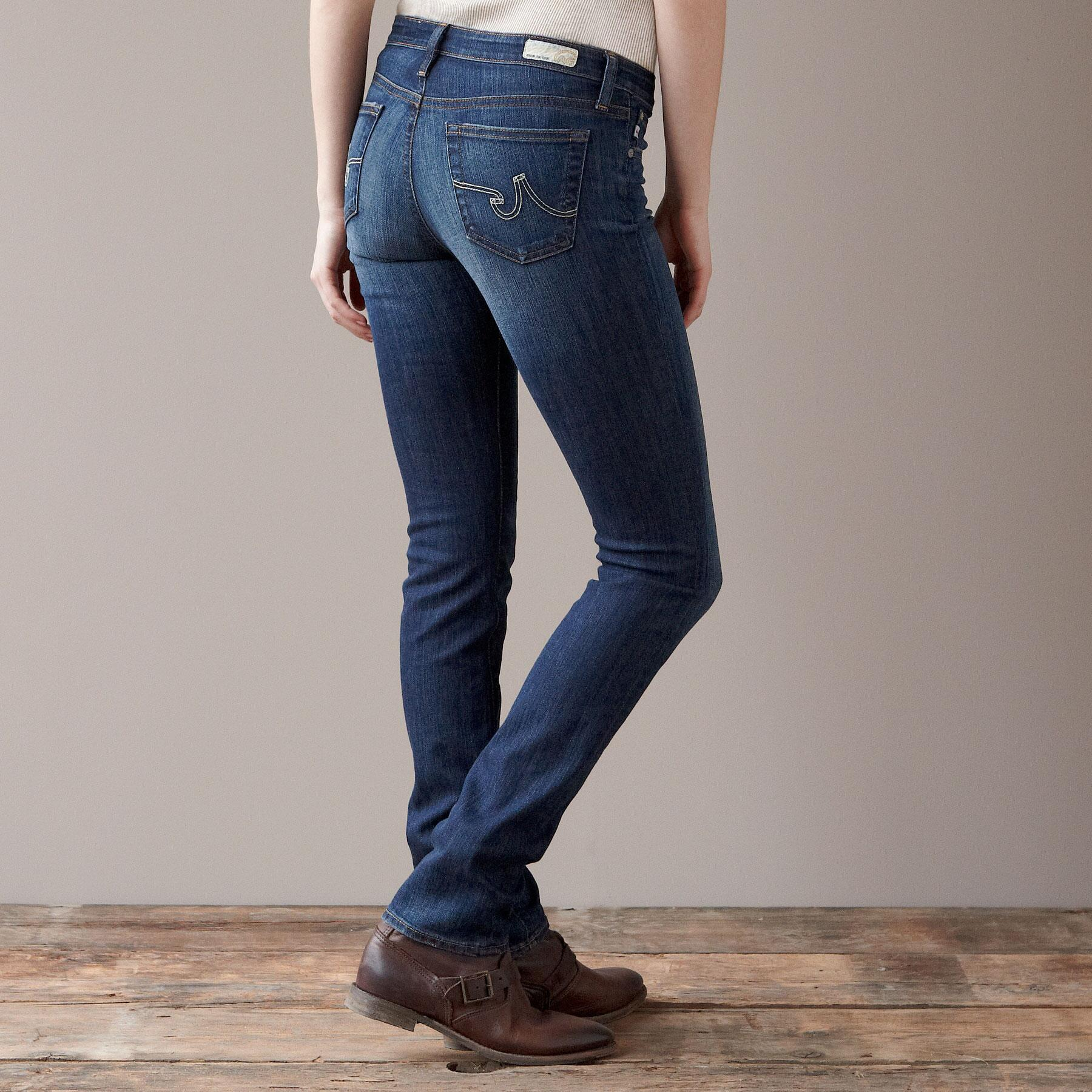 A G PREMIERE SKINNY IN 7 YEAR WASH JEANS: View 2
