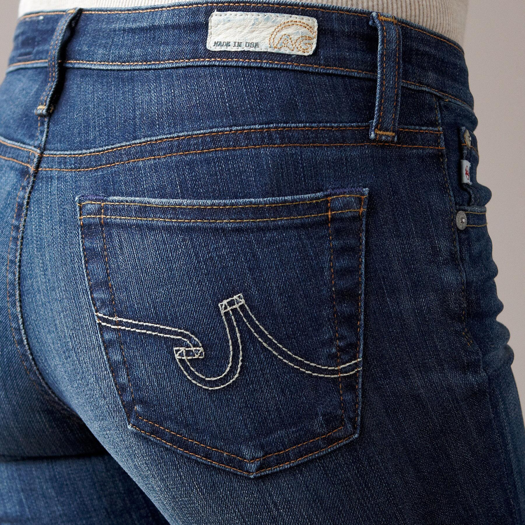 A G PREMIERE SKINNY IN 7 YEAR WASH JEANS: View 3