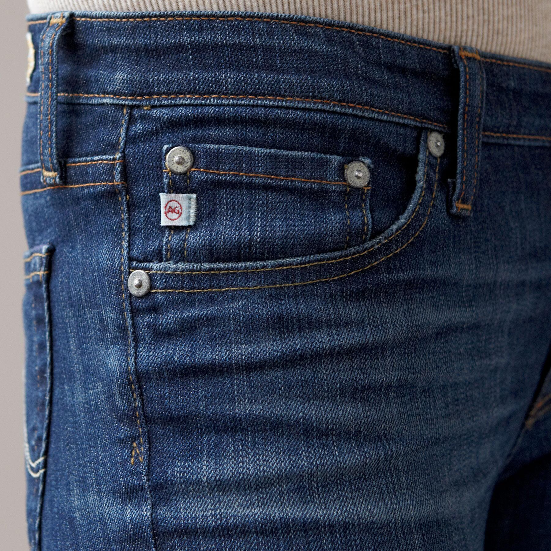 A G PREMIERE SKINNY IN 7 YEAR WASH JEANS: View 4