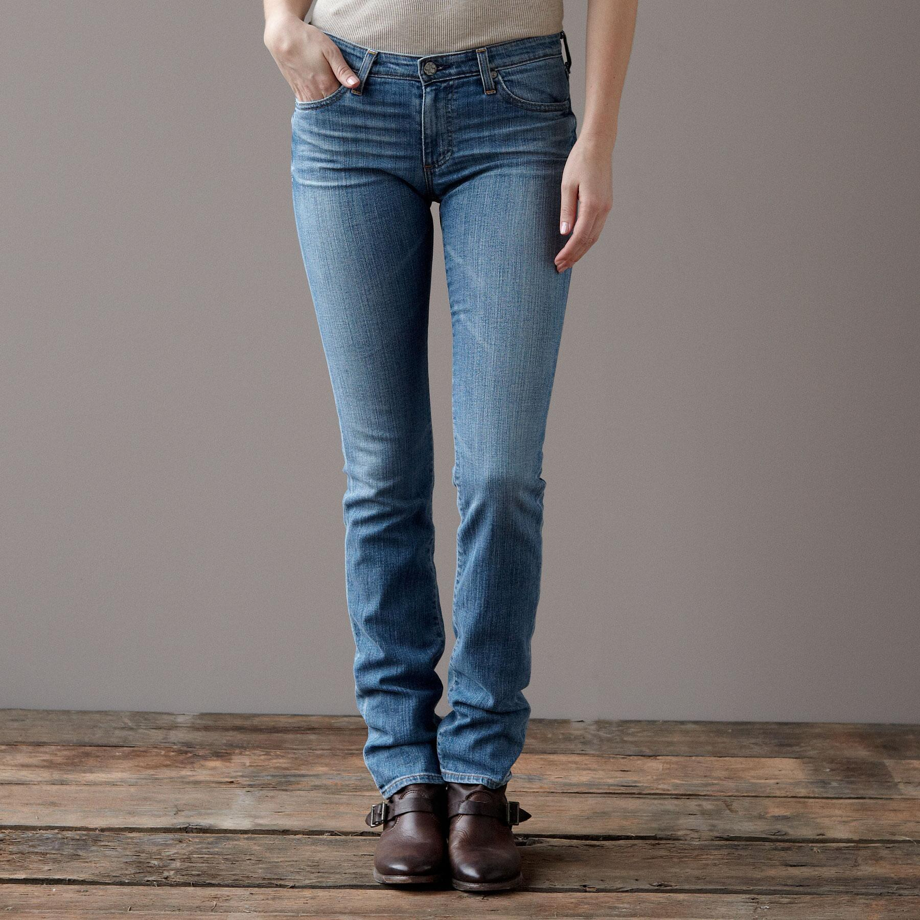 A G PREMIERE SKINNY IN 18 YEAR WASH JEANS: View 1