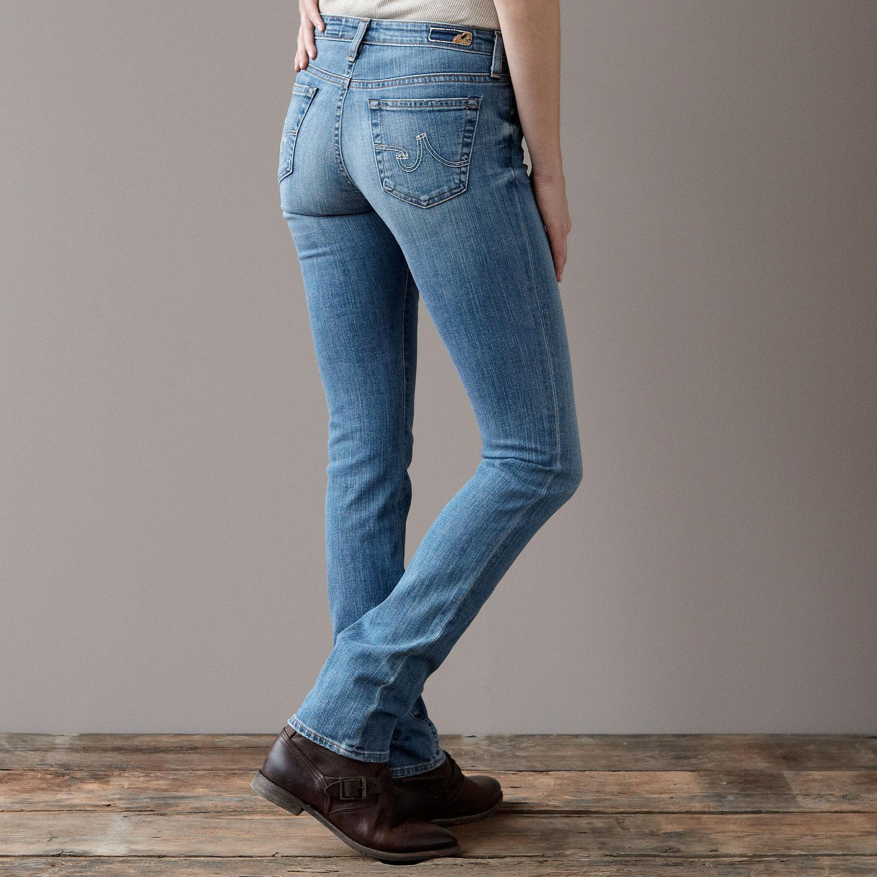A G PREMIERE SKINNY IN 18 YEAR WASH JEANS: View 2