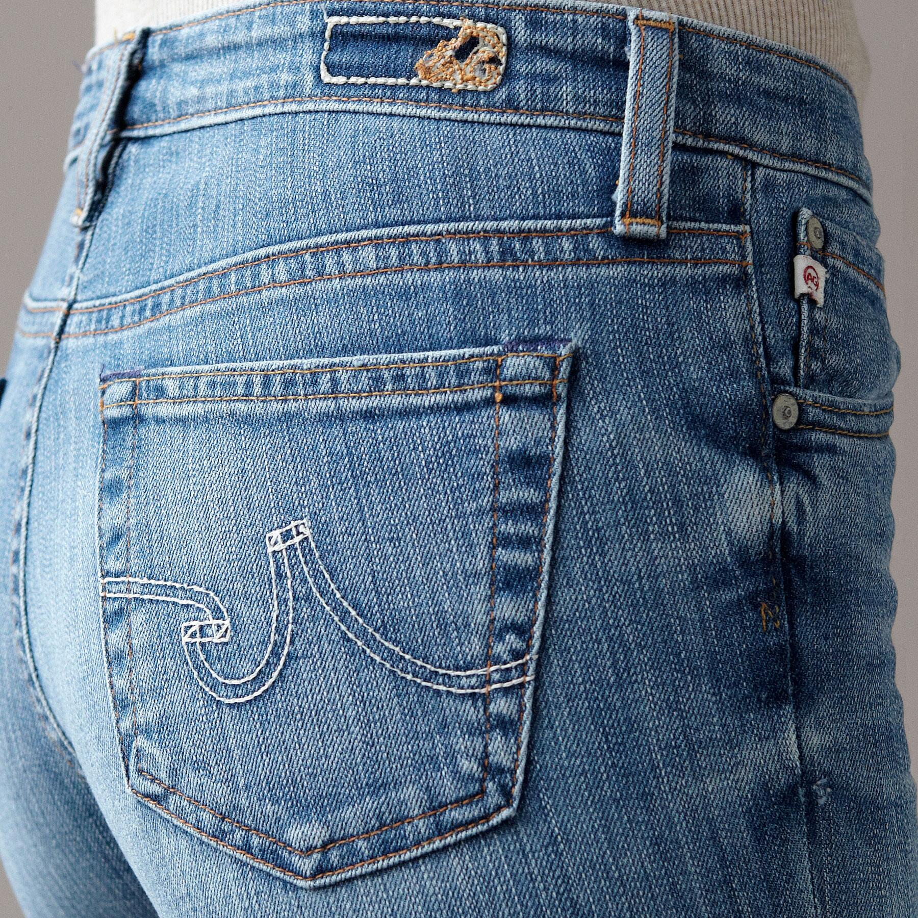A G PREMIERE SKINNY IN 18 YEAR WASH JEANS: View 3