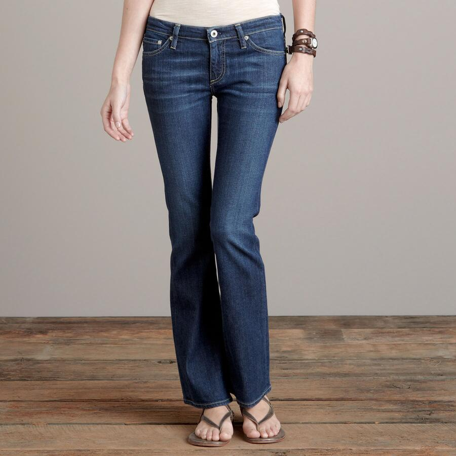 A G ANGELINA BOOTCUT IN GRANT WASH JEANS - PETITES
